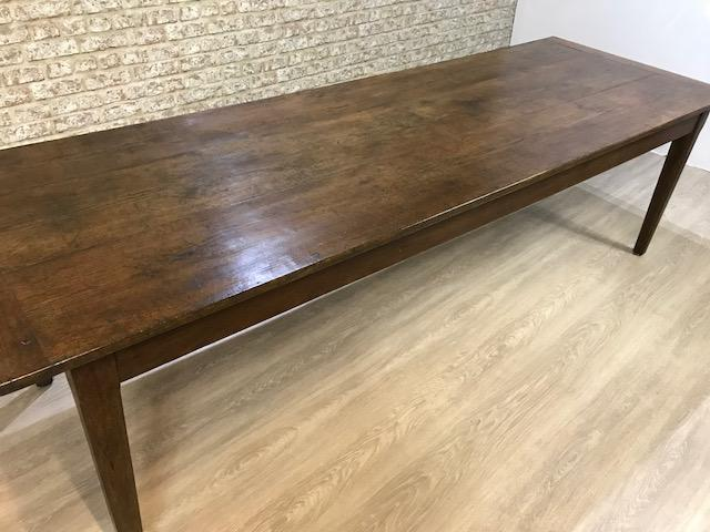 Large old farmhouse table