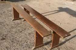 Antique Chestunut benches