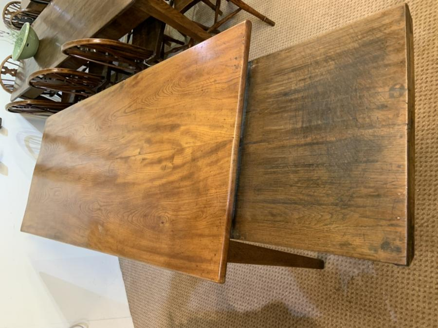 Antique Elm Farmhouse Table