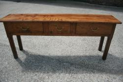 Antique Elm Server