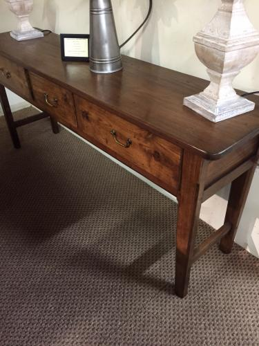 Antique Console Tables Oak French Server Walnut Elm