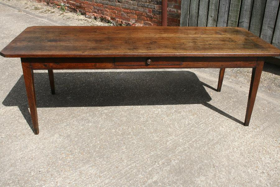 Antique Oak Farmhouse Table