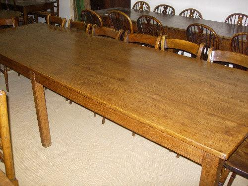 Antique Oak large dining table