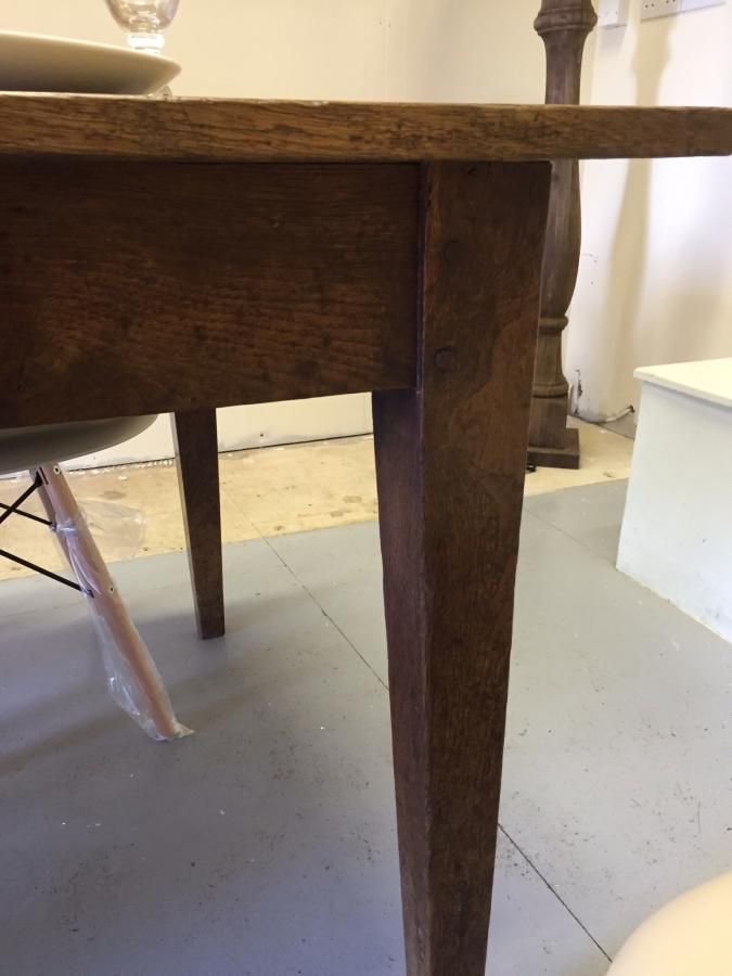 Antique oak table