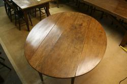 Antique Round Cherry Table