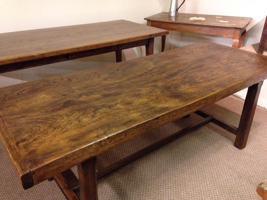Antique two plank French Normandy Table