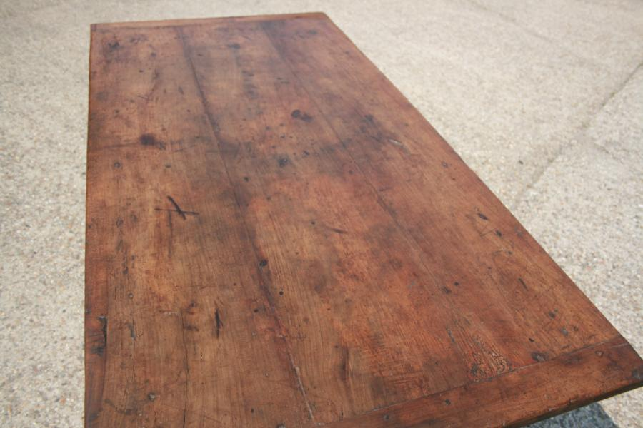 Antique Walnut and Cherry H/stretcher