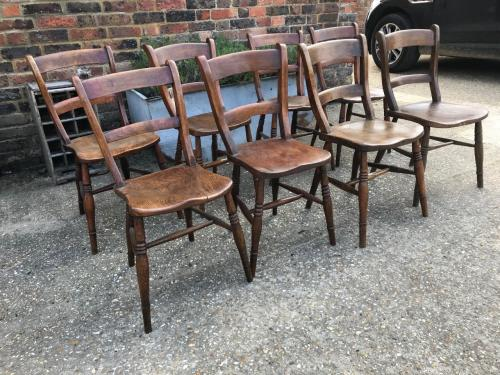 Bar Back Windsor Chairs