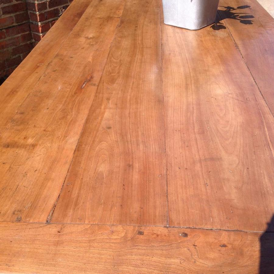 Beautiful antique cherry farmhouse table