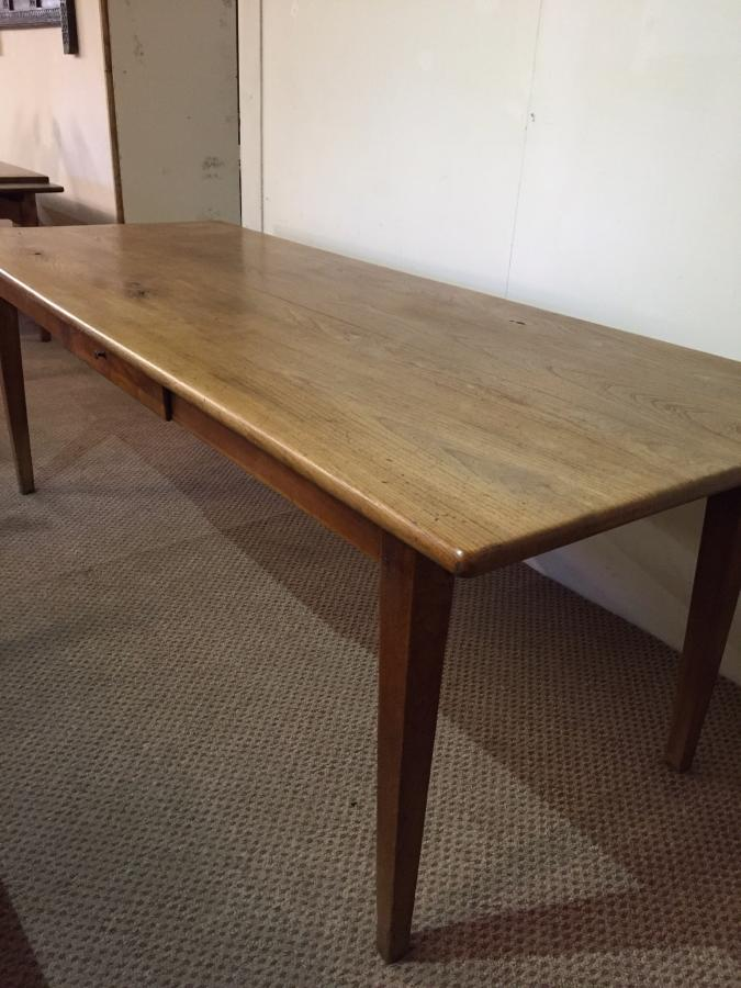 Beautiful antique elm dining table
