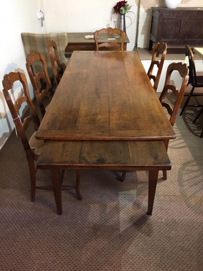Beautiful rare wild cherry farmhouse table