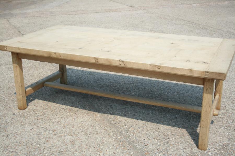 Bleached Oak Table