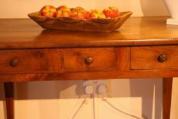 Cherry Antique Side Table