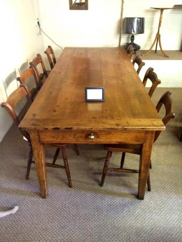 Cherry Farm house table - Circa 1840