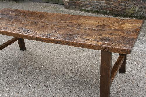 Elm Country Normandy Table