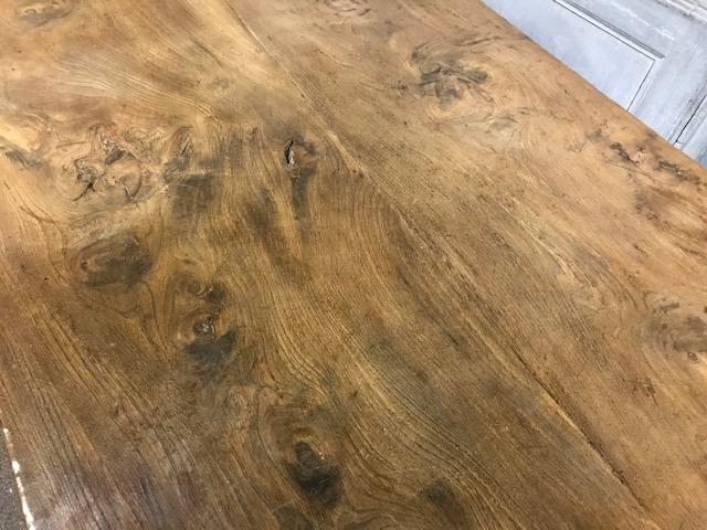 Elm Farmhouse Table