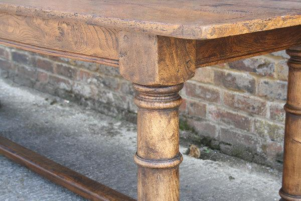 Elm Refectory Table