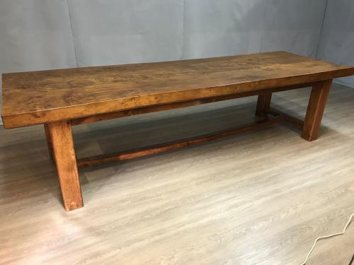Exceptionally large statement Elm Normandy Table