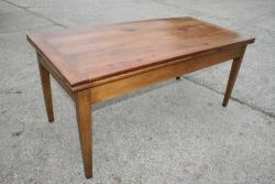 Extending Cherry farmhouse table