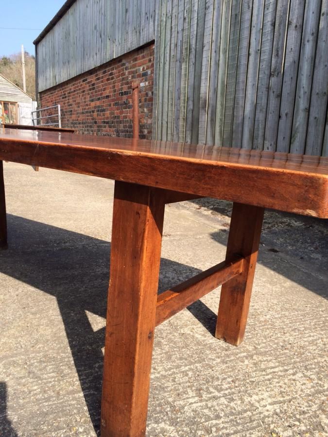 French beech antique farmhouse table