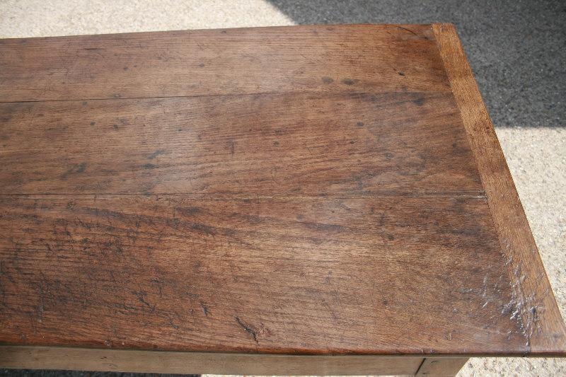 French Farmhouse Chestnut Table