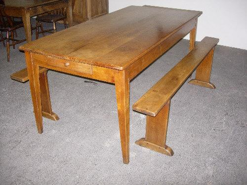 French farmhouse Table and benches