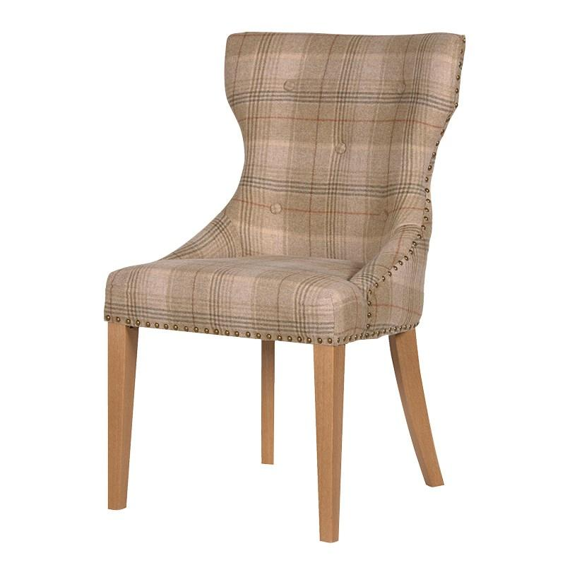 4 Huntroyd Dining Chair, Sand