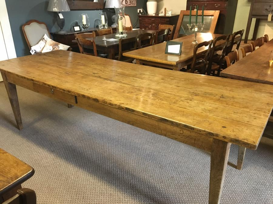 Large ash French Farmhouse table