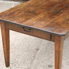 Large Chestnut Antique Table