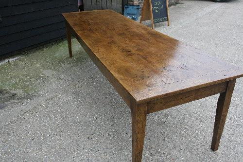 Large pale Ash Farmhouse Table
