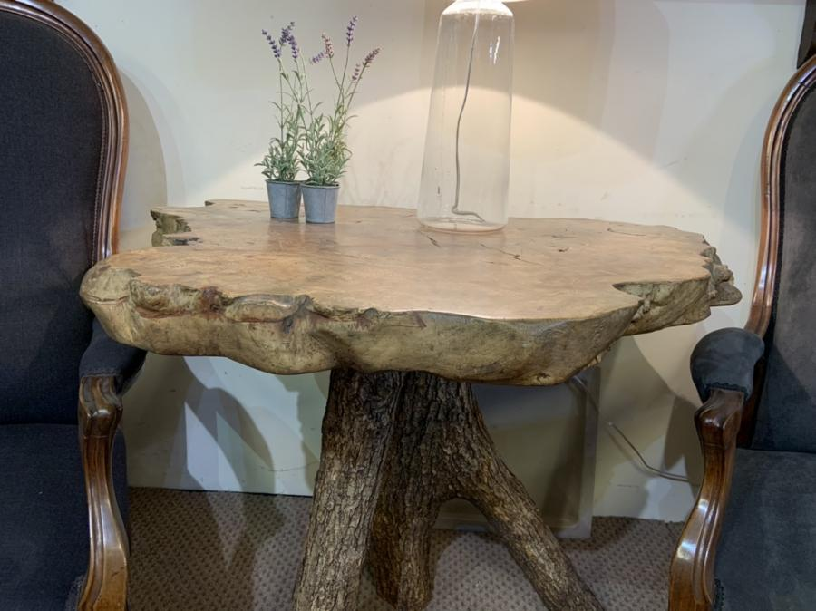 Live Edge Elm Table
