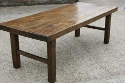 Normandy farmhouse Beech table.