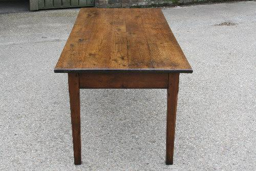 oak and cherry Farmhouse table