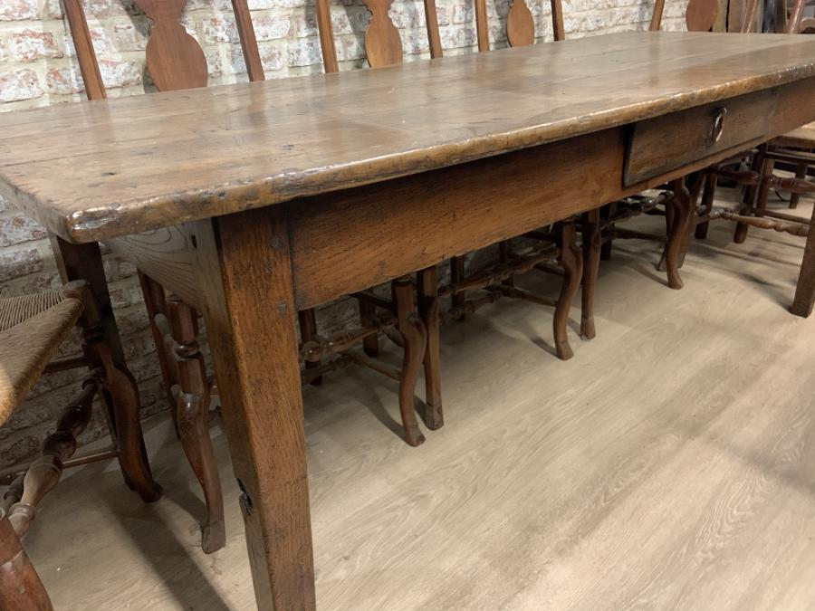 Oak Antique French Farmhouse Table