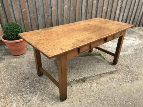 Oak Antique Two Drawer Desk