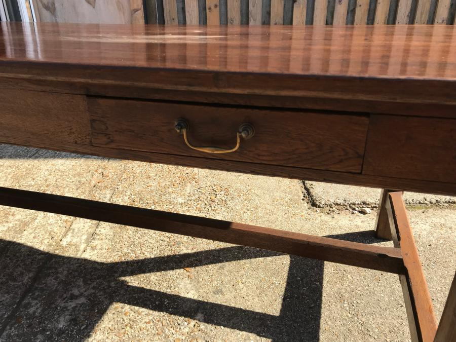 Oak Farmhouse Antique Table