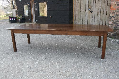 Oak French farmhouse table