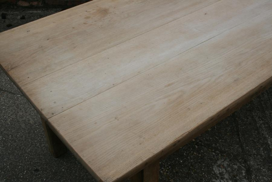 Pale Oak Square leg table