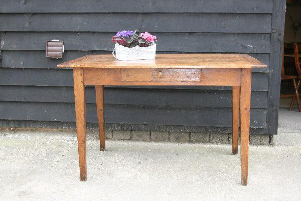 pine tapered leg French desk