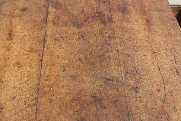 provincial fruitwood farm table