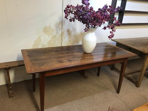 Old small cherry kitchen / dining table