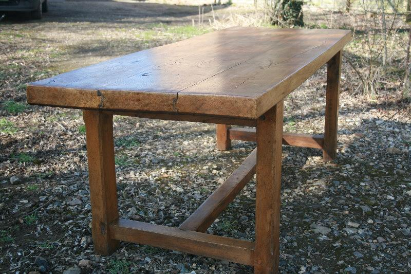 Stunning 3 plank Normandy Table