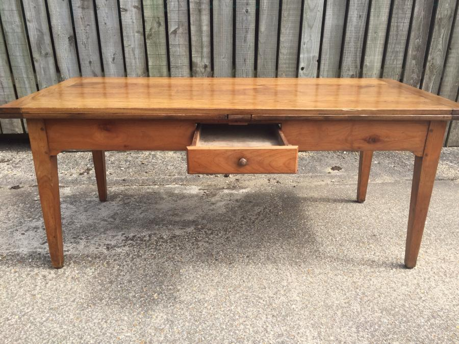 Stunning antique cherry extending table