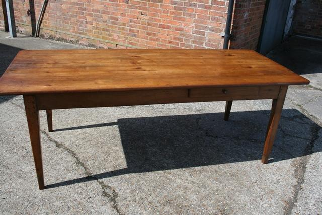 Stunning antique cherry farmhouse table