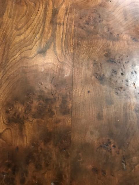 Thick Top Elm Rustic Farmhouse Table
