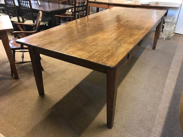 Wide Oak French Farmhouse Table